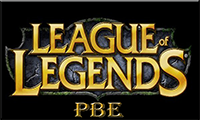 League of legends PBE logo
