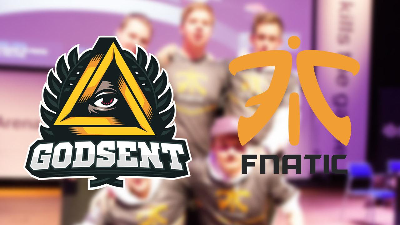 Οι Fnatic και GODSENT αλλάζουν τρεις παίκτες