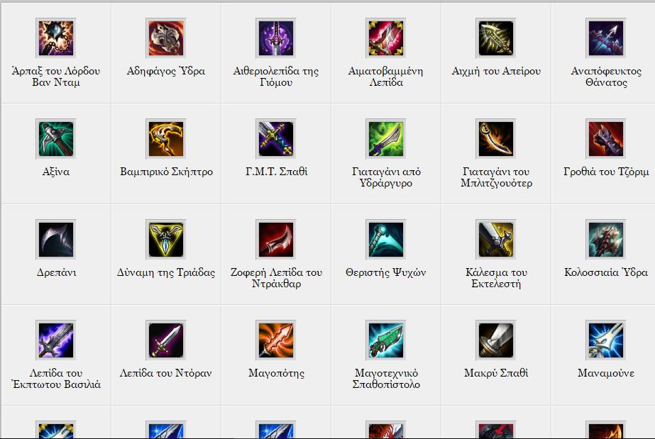 Σημαντικές αλλαγές και στα αντικείμενα των Assassins